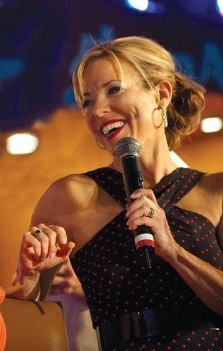 Sissy Biggers TV Host Holiday Entertaining