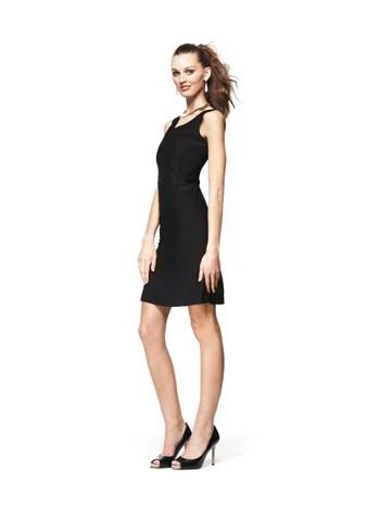 Sleeveless Low-V Sheath Dress by Ronnie Escalante Macy's