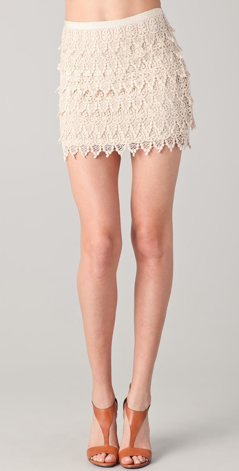 BB Dakota Lace Skirt
