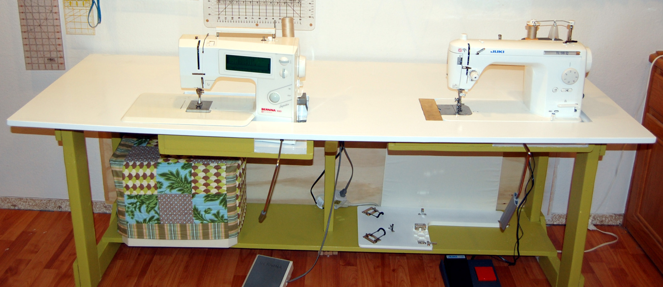 My New Sewing Table | Candied Fabrics