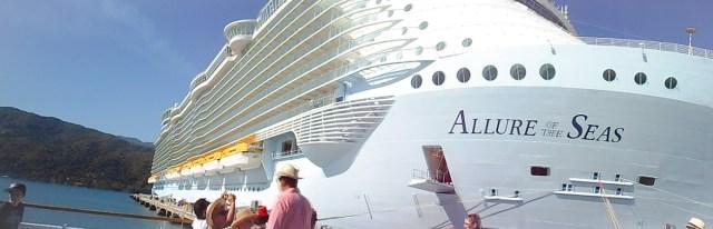 שיט באחת הספינות הגדולות בעולם- Allure of the Seas