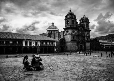 B&W Cathédrale - Cuzco