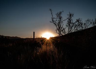 Lever de soleil - Région de Mendoza