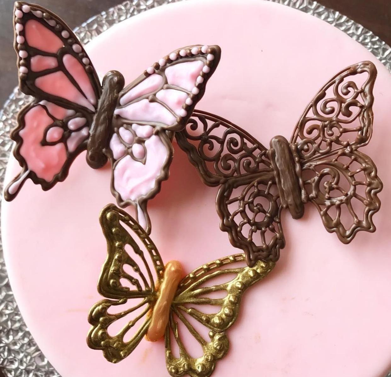 Csokoládé pillangók
