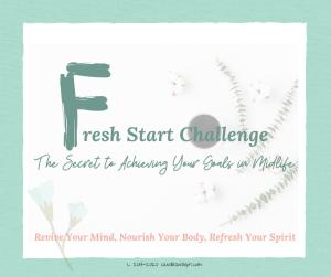 Fresh Start Challenge