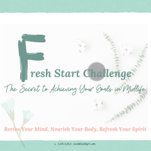 Fresh Start Challenge - transforming life after 50