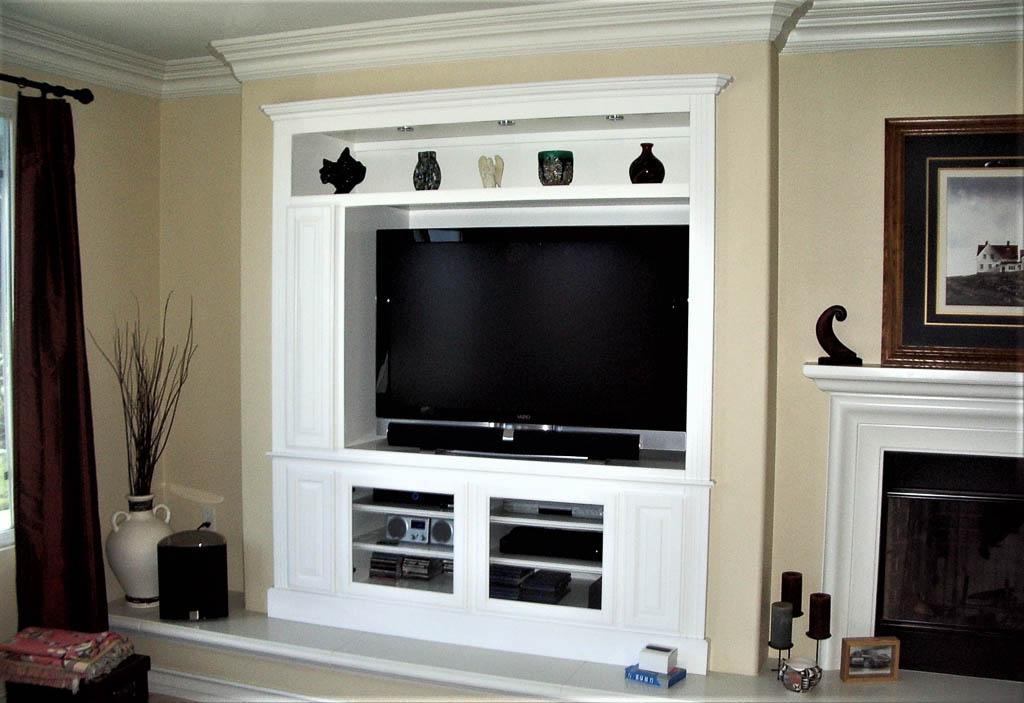Custom Entertainment Centers  Designed  Built  Installed C  L Designs Inc
