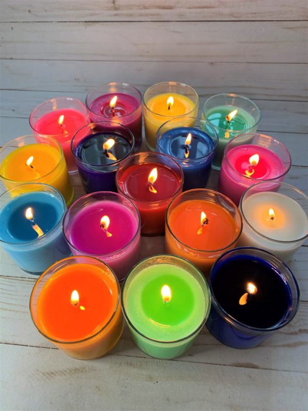wax dye chips for dying candles
