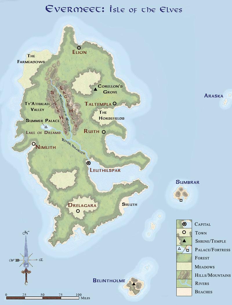 Interactive Map Of Faerun : interactive, faerun