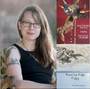Danielle Hanson and Her Poetry Books