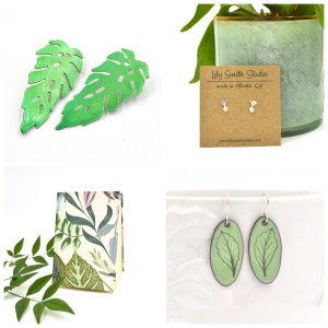 Lily Smith Botanically Inspired Jewelry and Handmade Sketchbooks and Journals