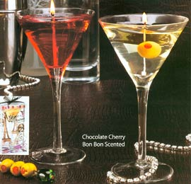 Martini Candles