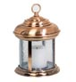 Outdoor fixture candle