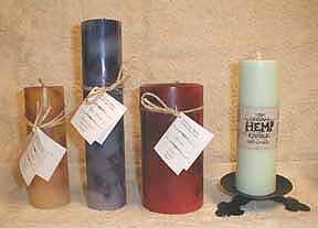 hemp candles