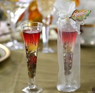 flute gel candle