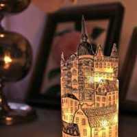Paper Lanterns Inspired by Stockholm