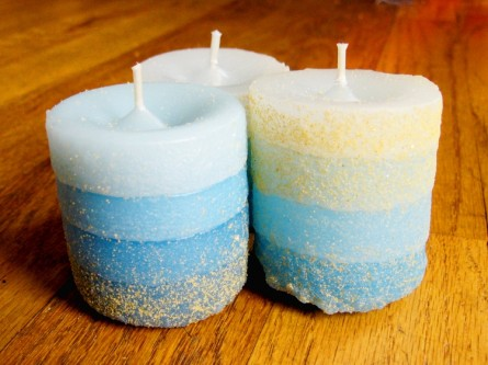 Candles Made in Sand Molds