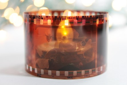 Film Roll Candle @ Craft Gossip