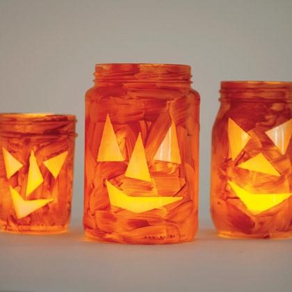Jar-O- Lanterns