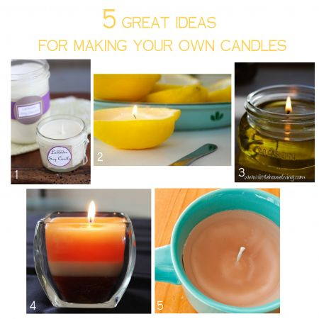 candle craft ideas 5 great ideas for your own candles candle 1214