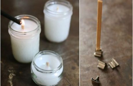 Make Your Own Wooded Wicks