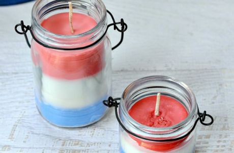 Fourth Of July Citronella Candles