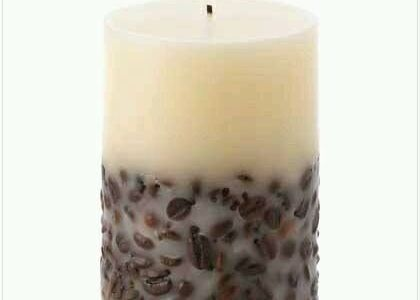 DIY Coffee Bean Candle – Smells Amazing