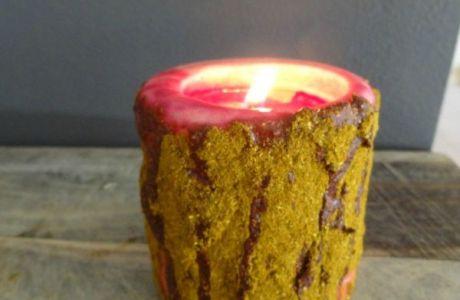 Cinnamon Grubby Candles Tutorial
