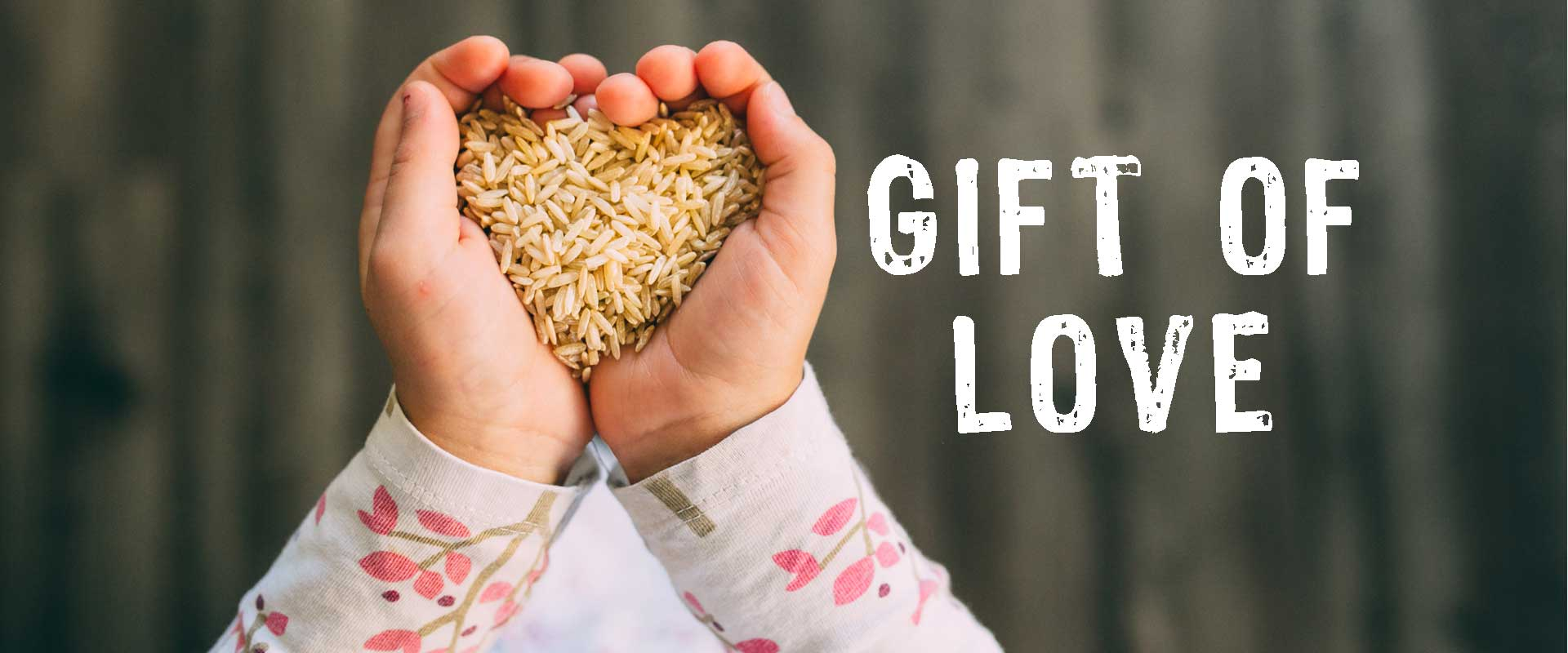 love in the gift of the We give gifts in many ways a story about giving not only a gift of love to someone who is in trouble, but about how those gifts can stay with you years later.