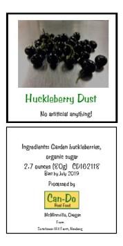 Huckleberry Dust