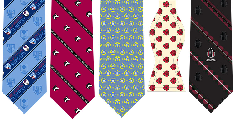 Complete custom ties options, part 1:  artwork