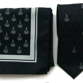Johns Hopkins Radiology scarf and tie