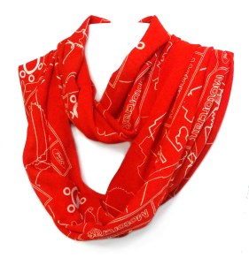 Infinity scarf in 100% modal