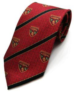LA Scots Pipe Band woven silk tie