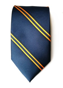 Loch Norman Pipe Band woven polyester tie