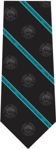 Long Beach Police Pipe Band tie design