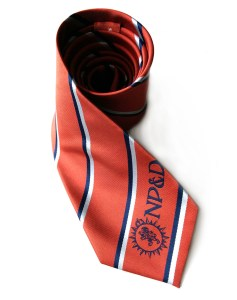 Nashville Pipes and Drums woven polyester tie