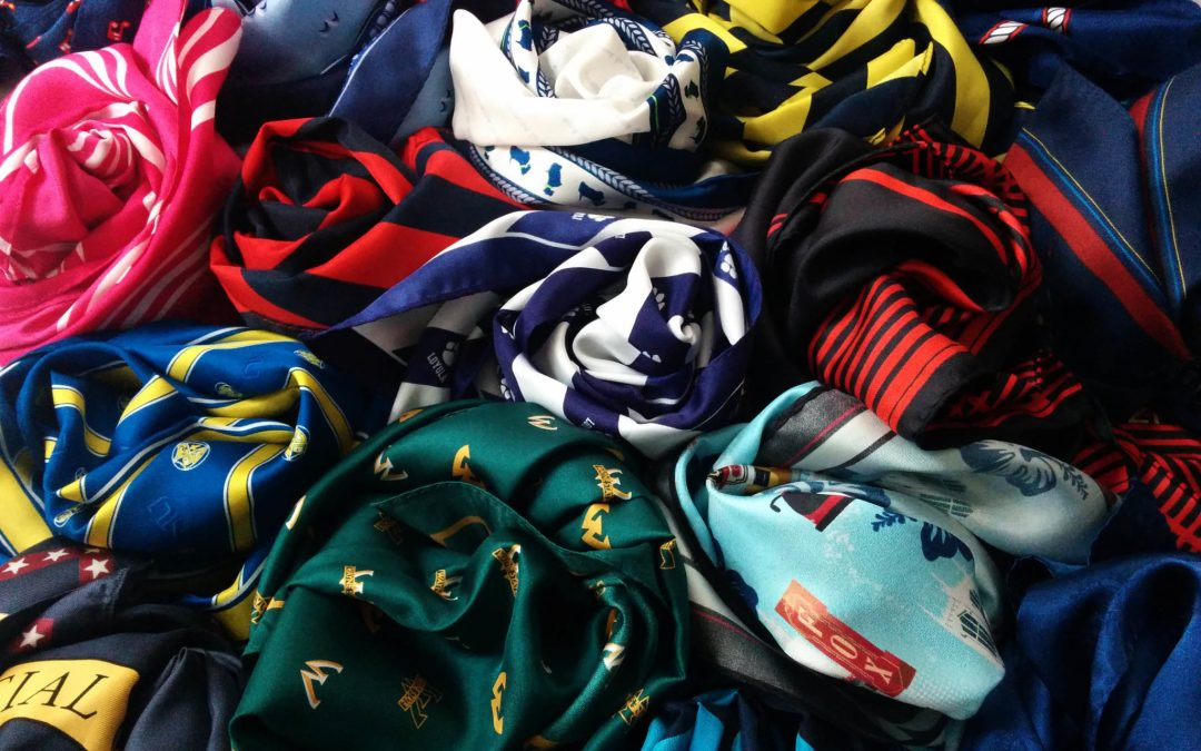 Complete custom scarf options, part three: digital printing and fabric options