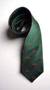Flint Hill Preserve, tie, green