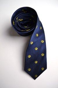 Accumulus Capital Management, silk, tie, navy, shells