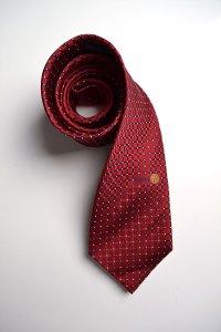 Russell Hampton Co, red, pattern, silk, ties