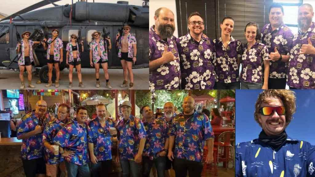 Candor Threads custom Hawaiian print shirt customers