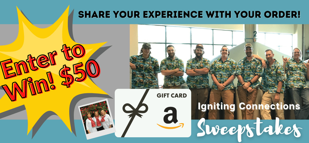 Igniting Connections: Win a $50 gift card for your experience share!