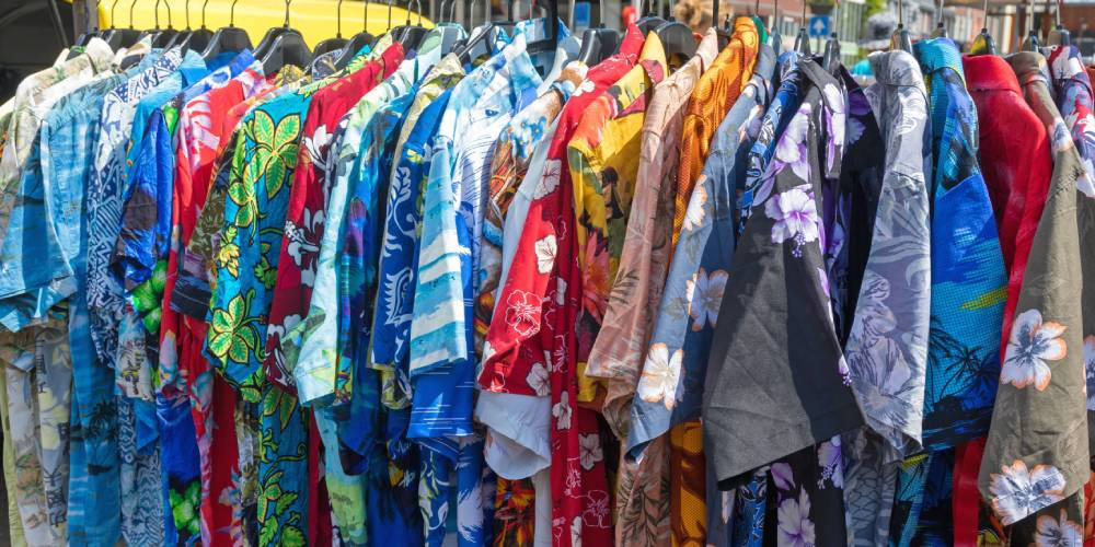 Hawaiian shirt ready-to-wear