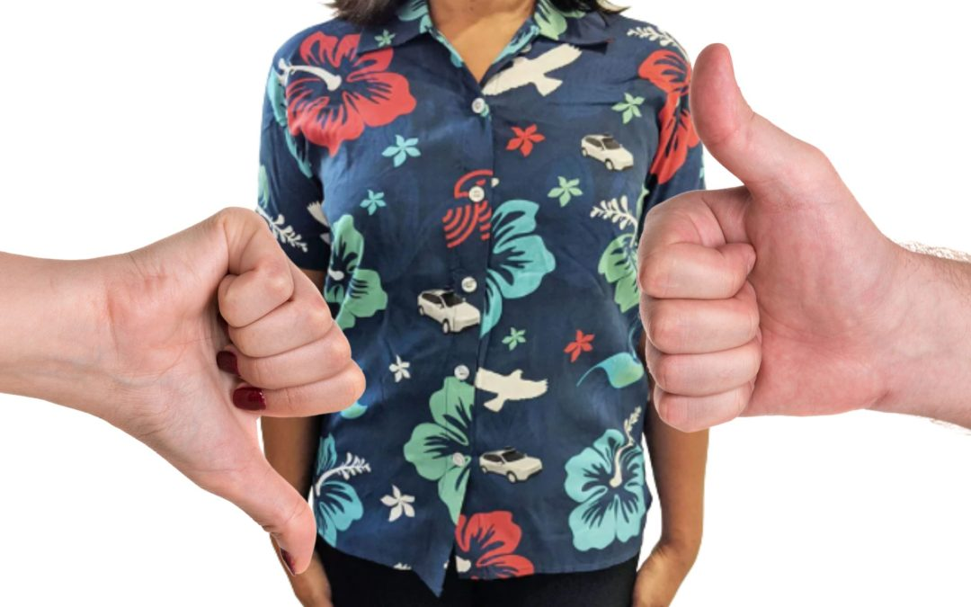 Hawaiian shirts ARE and are NOT…