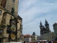 チェコ プラハ時計塔