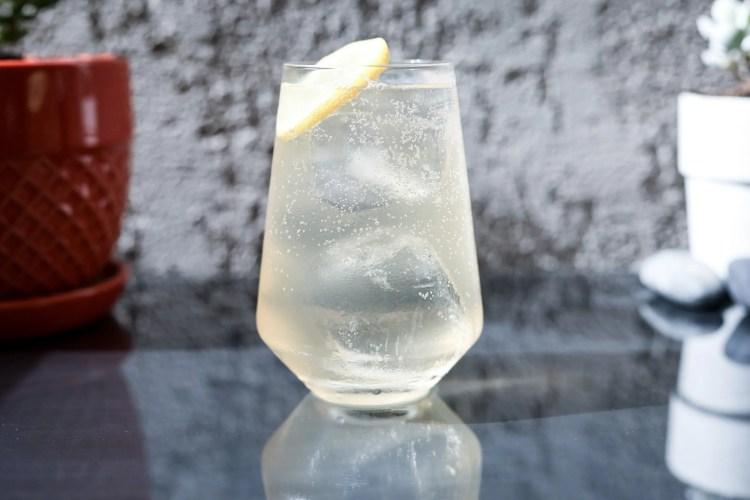 One bottle of Gin menu