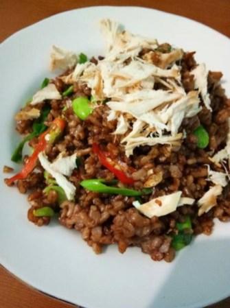 Nasi Goreng Beras Merah : goreng, beras, merah, Goreng, Beras, Merah, Candra, Resep