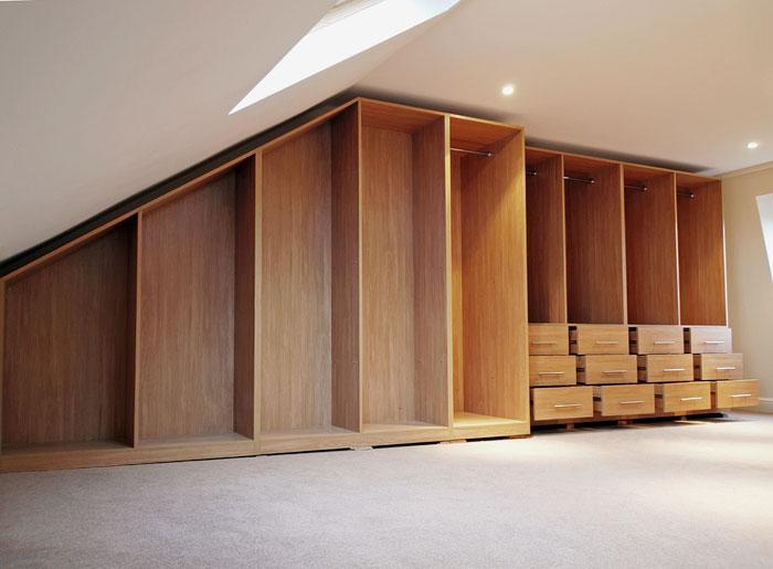 Loft Wardrobes London  C  S Interiors
