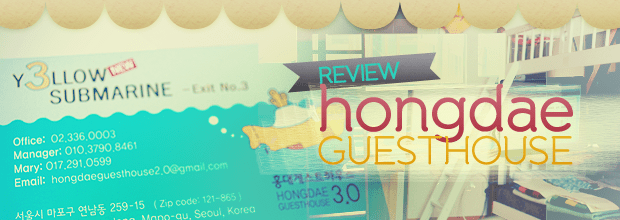 Review: Hongdae Guesthouse